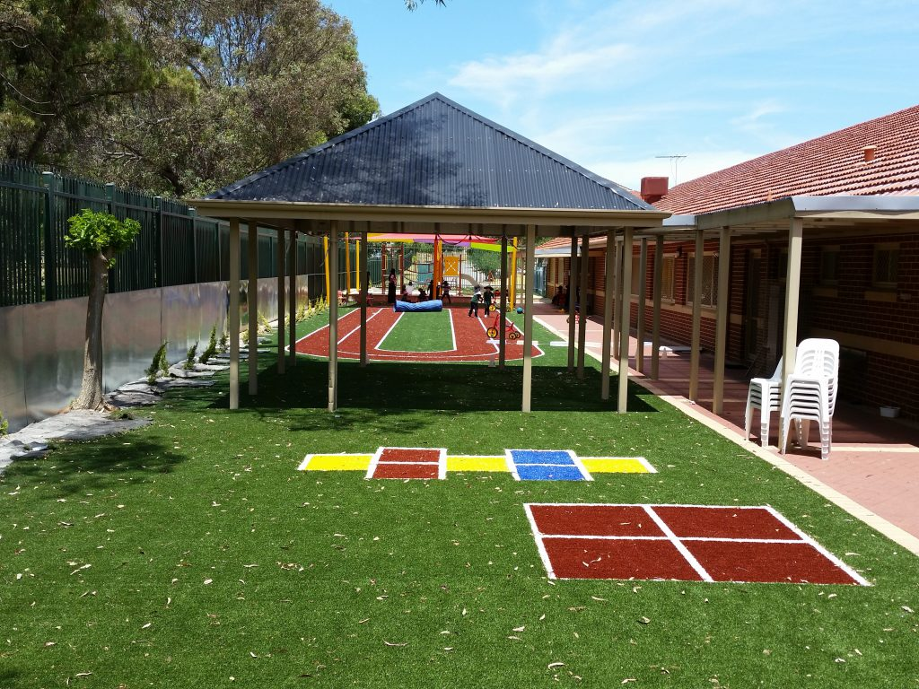 Artificial turf installation gallery